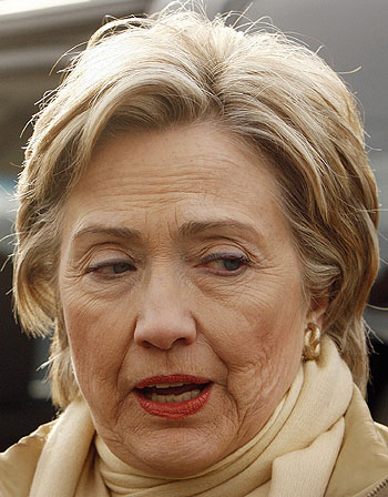 ugly hillary