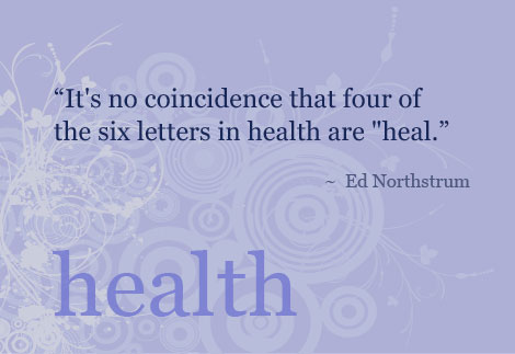 Quote on health