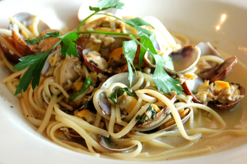 clam chowder with manila clams linguine with manila clams linguine
