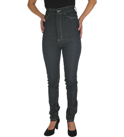 Back in skinny jeans: The high waist skinny jean