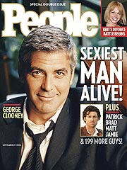 Image result for peoples magazine sexiest man alive george clooney