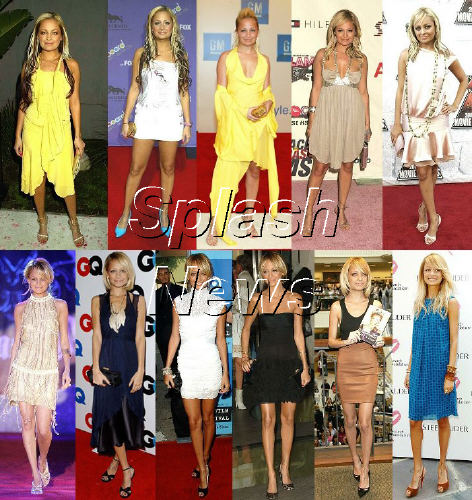 "nicole richie skinny. Splash News Online created this ""flow chart"" of Nicole"